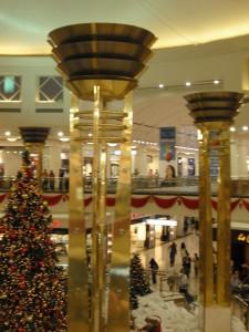Centro commerciale a Dubai..