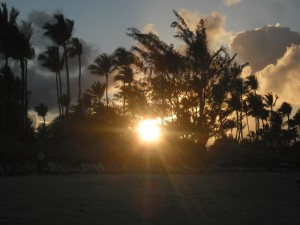 S.Domingo aprile 2011-  tramonto a Punta Cana