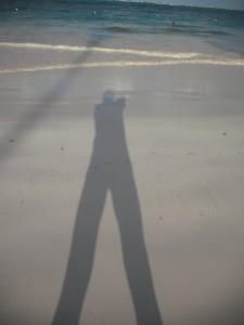 L'ombra si allunga al tramonto