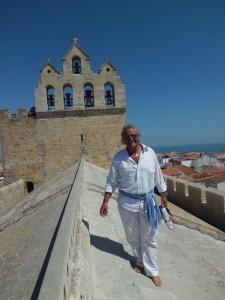 Sul tetto della cattedrale in attesa di Santa Sara