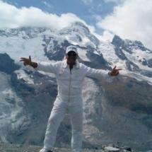 Lino ghiacciaio Zermatt